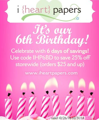 IHP 6th birthday bash
