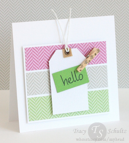 Canvas Hello by Tracy Schultz