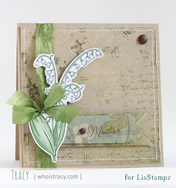Mother Lily card by Tracy Schultz @whoistracy.com