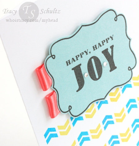Happy Happy Joy close-up by Tracy Schultz
