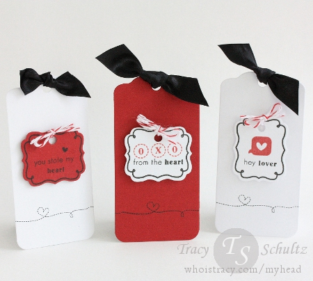 Valentine Tag Trio by Tracy Schultz