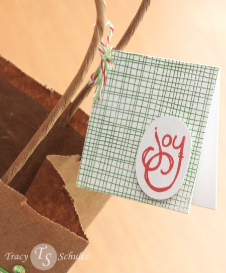 Peace Gift Bag card
