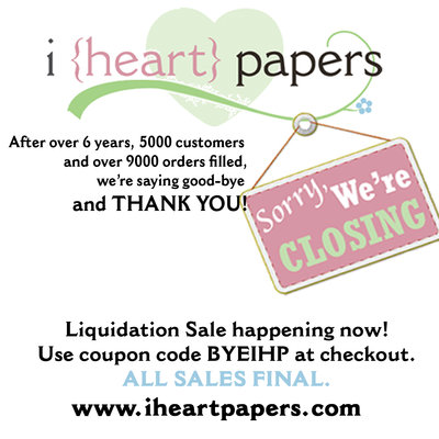 IHP closing sale